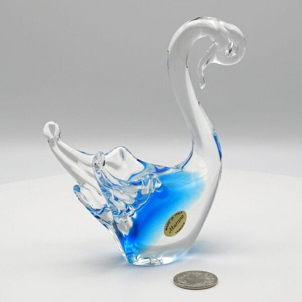Animaletti stilizzati in vetro di Murano