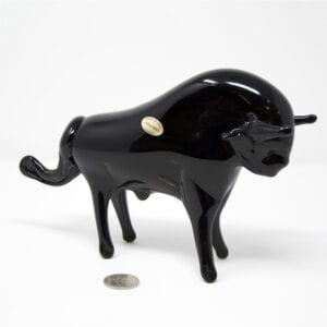 Il Toro in vetro di Murano