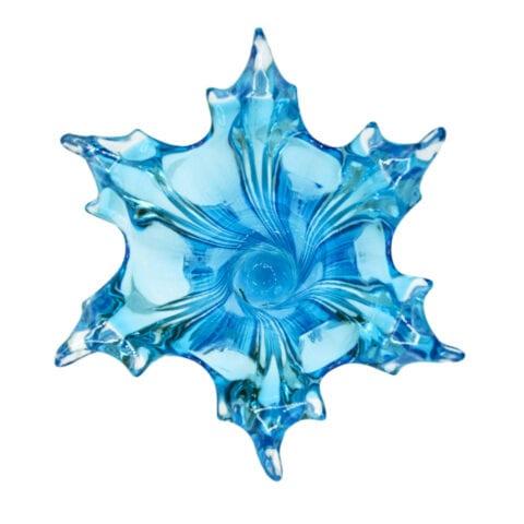 Vaso a torciglione in vetro di Murano