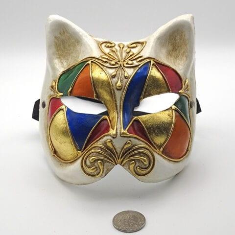 Die Katze - venezianische Maske