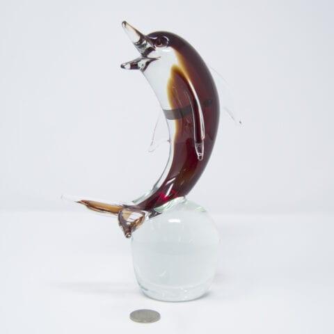 Delfino in vetro di Murano