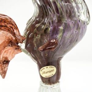 Gallo in vetro di Murano - Piccolo