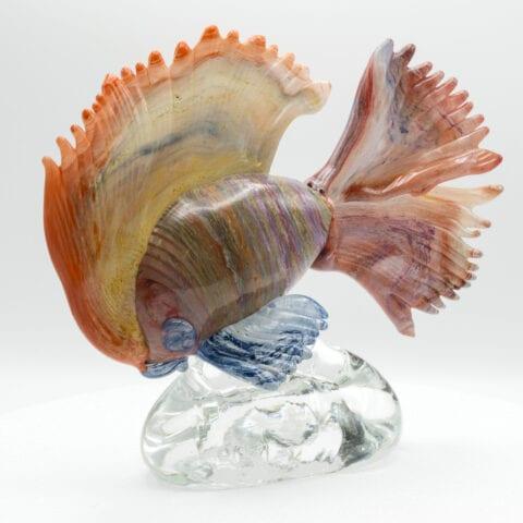 Pesce tropicale in vetro di Murano