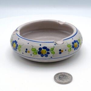 Posacenere-ceramica-floreale_1