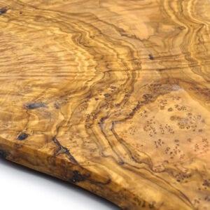 Tagliere raffinato in legno di ulivo - grande