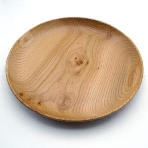 Centrotavola basso in legno tornito