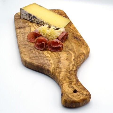 Tagliere lungo in legno di ulivo