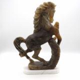 Cavallo in alabastro o agata