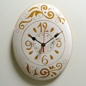 Orologio inciso ceramica 2-1