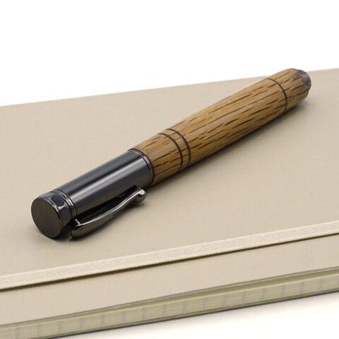 Penna stilo legno botte 5