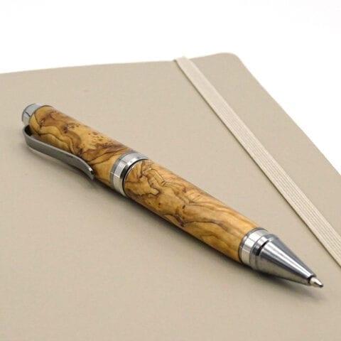 Penna stilo legno ulivo 2