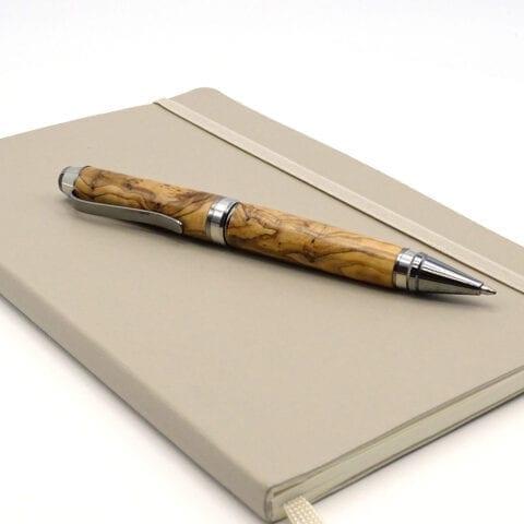 Penna stilo legno ulivo 5