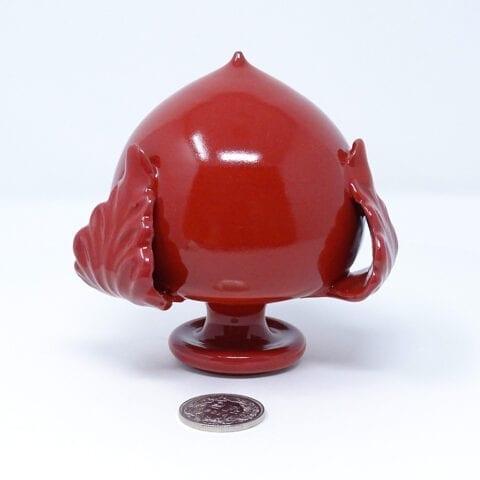 Pumo ceramica rosso 1