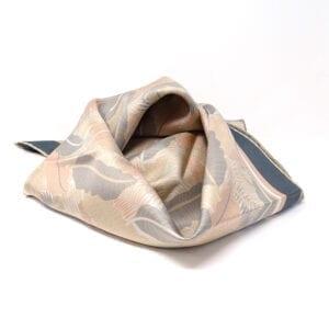 Foulard in pura seta - Drawn leaf
