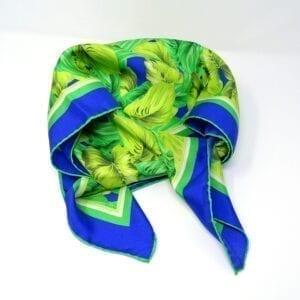 Foulard in pura seta - Tempest green