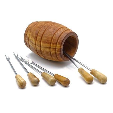 Forchettine fondue legno-2