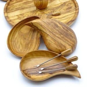 Vassoio fondue legno ulivo-03