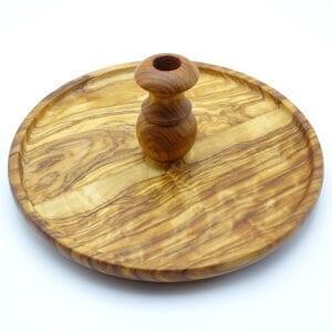 Vassoio fondue legno ulivo-04