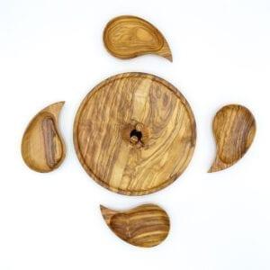 Vassoio fondue legno ulivo-06